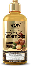 WOW Moroccan Argan Oil Shampoo - For Best Hair Growth Treatment - 16.9 fl oz.