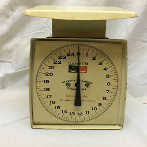 Vintage Hanson Utility Scale 25 Pounds Metal