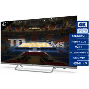 Televisor TD Systems K43DLX11US LED UltraHD 4K Smart TV