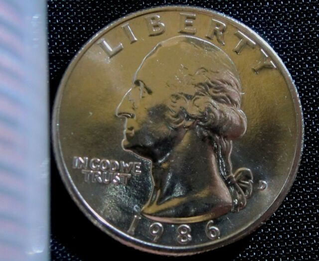1986-D Denver Mint Washington Quarter BU