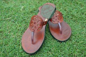 d00443cfef771 Details about Handmade Ladies Leather Sandal Women Floral flip flops Indian  Dress Slipper