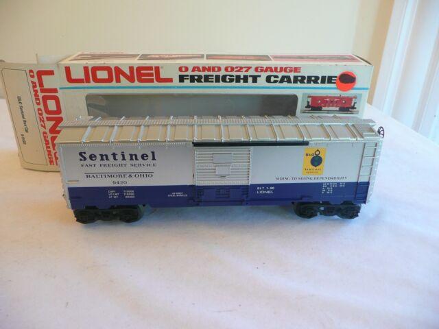 Lionel 9420 Sentinel Box Car