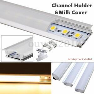 Image Is Loading 50cm U Style Aluminium Channel Holder For Led