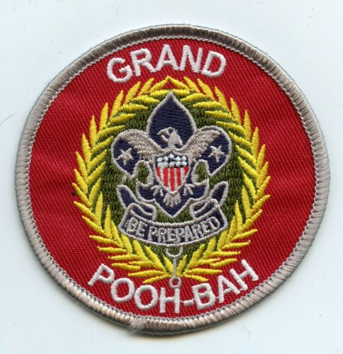 """/""""Grand Pooh-Bah/"""" commissioner patch Joke//spoof patch"""