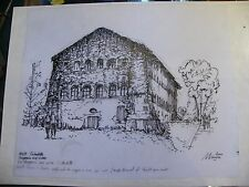 Inchiostro cinese sullo strato Metz citadelle Negozio Cibo André Simon 1926-2014