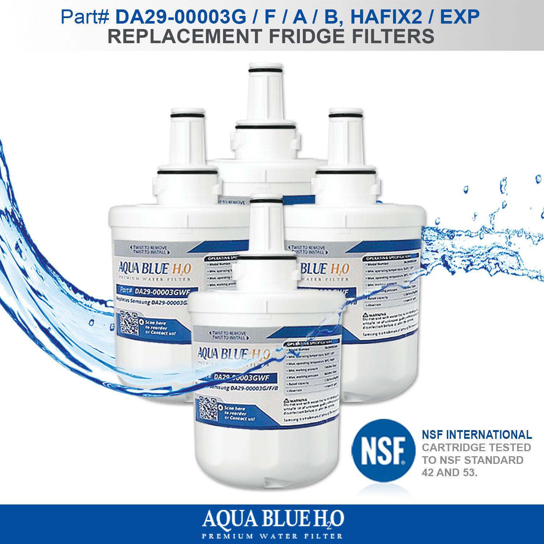 4X SAMSUNG Compatible HAFIN1 EXP DA29-00003F, A, B FRIDGE WATER FILTER FREESHIP