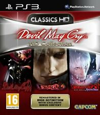 Ps3 gioco Devil May Cry-HD Collection Trilogia TRILOGY HD 1 2 3 NUOVO