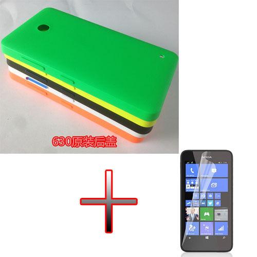 EB4 Original Battery Back Door Cover Case + LCD for Nokia Lumia 630 635 636 638