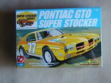 FACTORY SEALED AMT/ERTL Pontiac GTO Super Stocker for Model King Kit#21464P