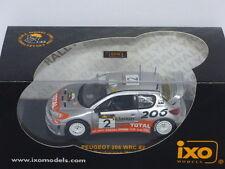 Ixo Peugeot 206 WRC Cyprus 2002 Rally Winner Gronholm / Rautiainen  REF: RAM085