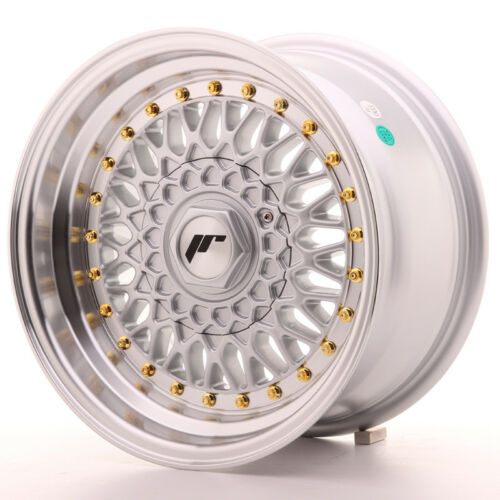 Un Cerchio in Lega Japan Racing JR9 15x8 ET20 4x100//108 Argento