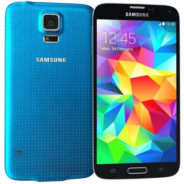 5,1 Zoll Samsung Galaxy S5 G900F 16GB Android Smartphone - Blau Ohne Simlock Neu