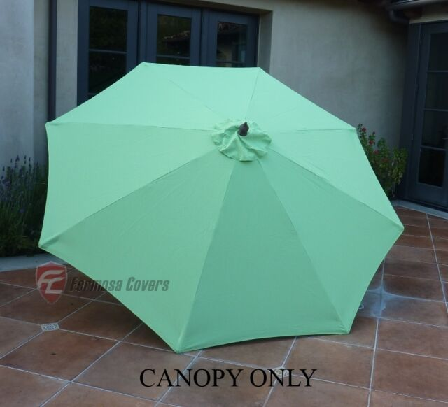 Buy Formosa Covers 9ft Umbrella Replacement Canopy 8 Ribs In Lime