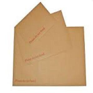 """Bien éDuqué Dur Carte Board Retour Soutenu """"veuillez Ne Pas Plier"""" Enveloppes-afficher Le Titre D'origine Avoir Une Longue Position Historique"""