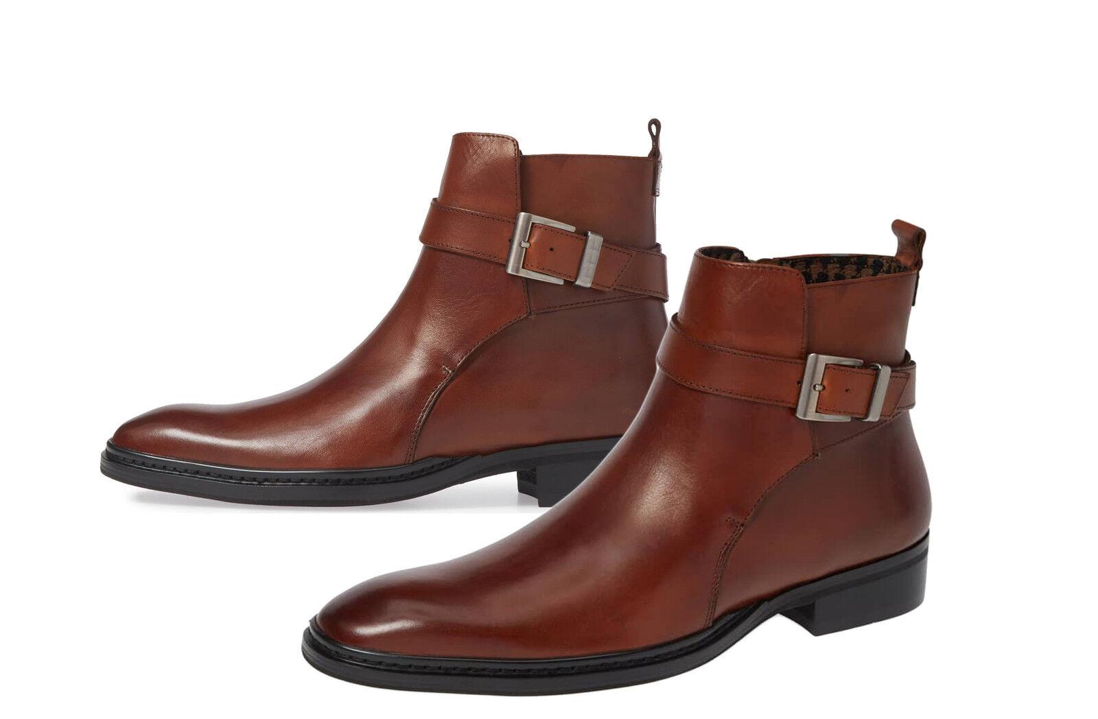 Handmade Handmade Handmade Men braun Jodhpurs Stiefel, Men braun ankle leather Stiefel, Stiefel for men 0078c3