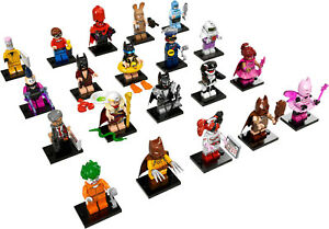 Collection Lego Minifigures de Batman Movie Collection Complete 20 Minifiguras 71017 Nouveau