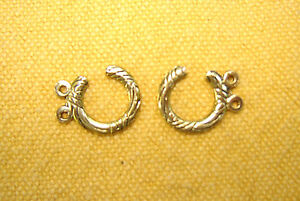 4-Paar-Dirndlhaken-Miederhaken-Trachtenzubehoer-1-9-cm-altgoldfarben-NEU
