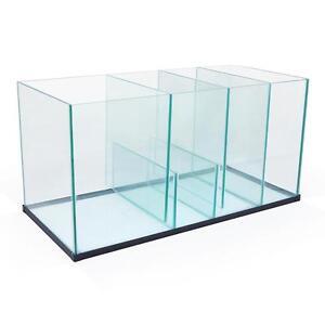 aquarium marine fish tank glass sump 80 x 38 x 40cm fits 90 100