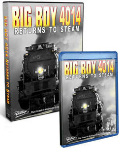 Big-Boy-4014-Returns-to-Steam-DVD-or-Blu-ray-NEW-Pentrex-Union-Pacific-Video