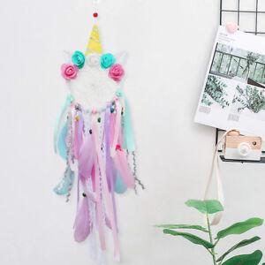 Unicorn-Dream-Catcher-Bedroom-Nursery-Handwoven-Handmade-DreamCatcher-Girls-Gift