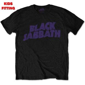 BLACK SABBATH KID/'S TEE WAVY LOGO
