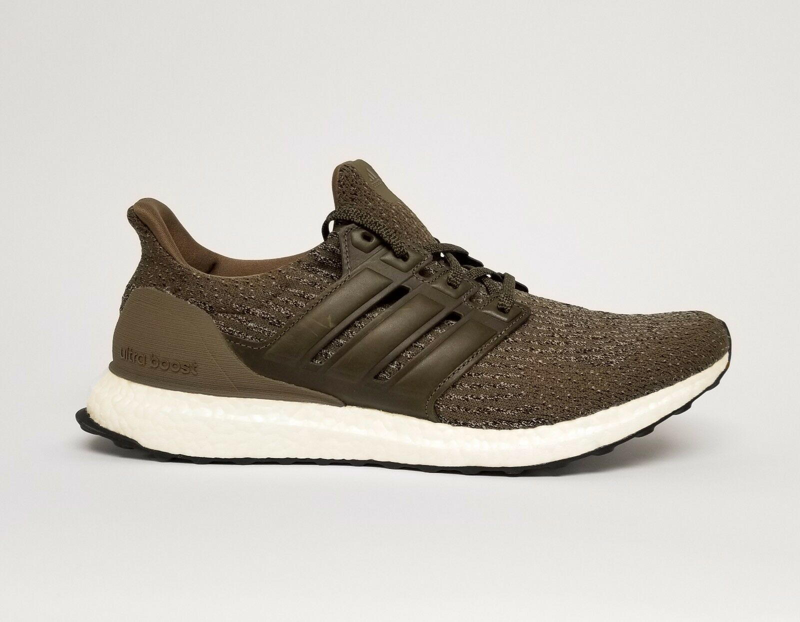 Adidas Men's UltraBOOST Running Shoes Trace Olive S82018 b