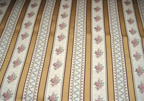 Möbelstoff Polsterstoff Biedermeier Streifen altgold antike Stühle Bekleidung