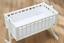 Crib BreathableBaby 4 Sided Mesh Liner Twinkle Grey