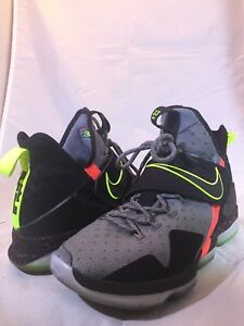 sports shoes 2e38d d6b73 Image is loading Nike-Lebron-14-XIV-Out-Of-Nowhere-XMAS-