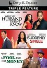 David E. Talbert What My Husband Doesn't Know Suddenly Singl 2013 DVD WS
