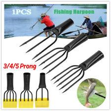 3-4-5 Teeth Extension Lock Fishing Rod Prong Harpoon Barbed Diving Spear Gun Gig