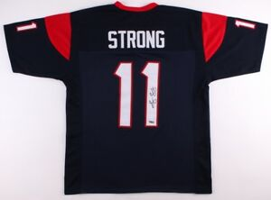 info for 50b4a 78e0c Details about Jaelen Strong Signed Texans Jersey (TriStar) First-team  All-Pac-12 (2014)
