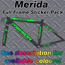 MERIDA Full frame Sticker Kit, protectors, Custom MBK, Bike, Mountain,Road,cycle