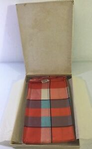 Baar-amp-Beards-Hand-Rolled-Pure-Silk-Scarf-Oblong-18-X-48-Multicolor-IN-BOX
