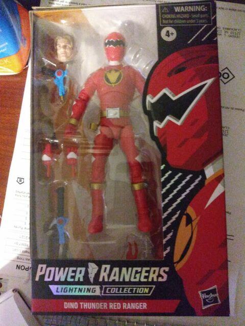 Power Rangers Lightning Collection: Dino Thunder Red Ranger Spectrum Series