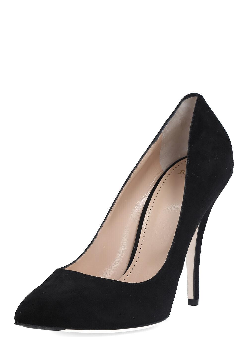 BALLY Damen Pumps High Heels Schuhe echt Leder Größe 41 schmal
