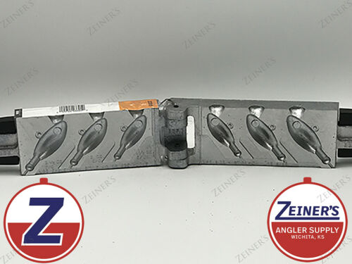 3305 New Do It Style H Bucktail Jig Mold Ball Collar 1ea 1 1//2 2 2 1//2 oz