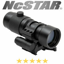 NcSTAR 3X Magnifier Flip to Side QR Weaver Mount Black Anodized Aluminum