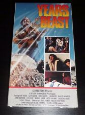 Years Of The Beast Rare Action Horror VHS 1981 Post Apocalypse FREE DVD