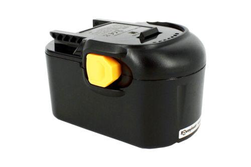 2000mAh 14.4 V Batteria per Aeg B1414G B1420R