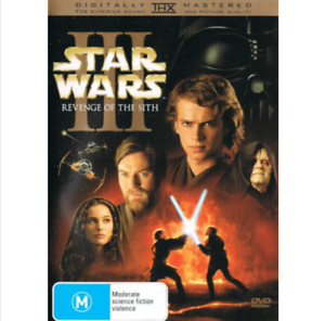Star Wars Episode Iii 3 Revenge Of The Sith Dvd Top 1000 Movies Sci Fi R4 9321337093635 Ebay