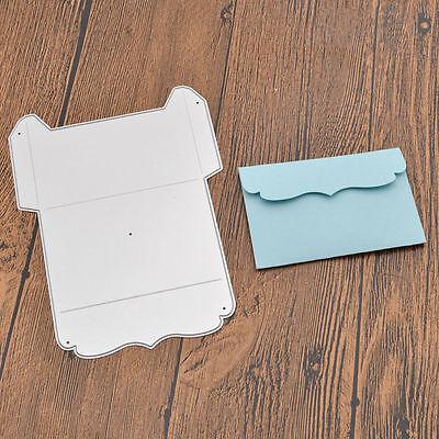 Metal Envelope Gift Box Cutting Dies Stencils Scrapbooking Album Embossing DIY