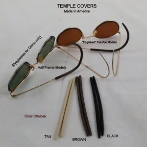034-NEW-034-Dermasol-Antique-Wire-Frame-Eyeglass-Temple-covers-1-6-mm-ID