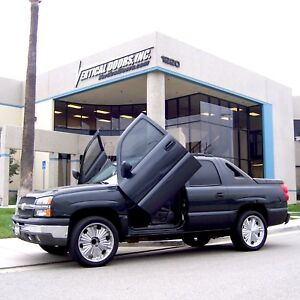 Lambo-Doors-Chevrolet-Avalanche-2003-2006-Partial-Bolt-On-Door-Conversion-kit