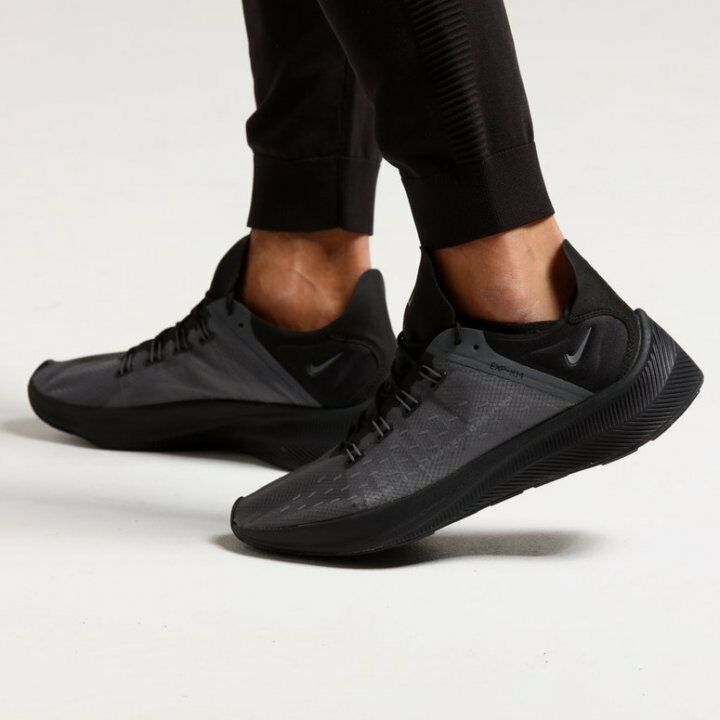 NIKE EXP-X14 Lifestyle shoes React technology Black Dark Grey