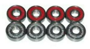 Bones Reds Bearings for Skateboards, Longboards, Scooters, Spinners