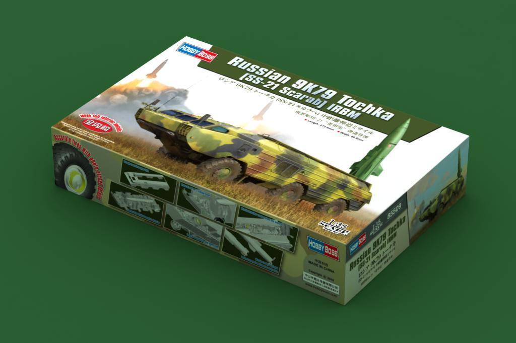 Hobbybo 85509 1 35 den ryska 9K79 Tochka (SS -21 Sbilab) IRBM