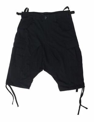 Puma Dropped Crotch Black Combat Cargo Shorts Shorts Men/'s NWT