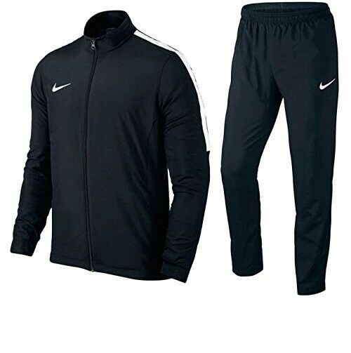 Men's SIZE 16 010 Black Fitness Academy Tracksuit New Nike 808757 S Football OynwvNmP80
