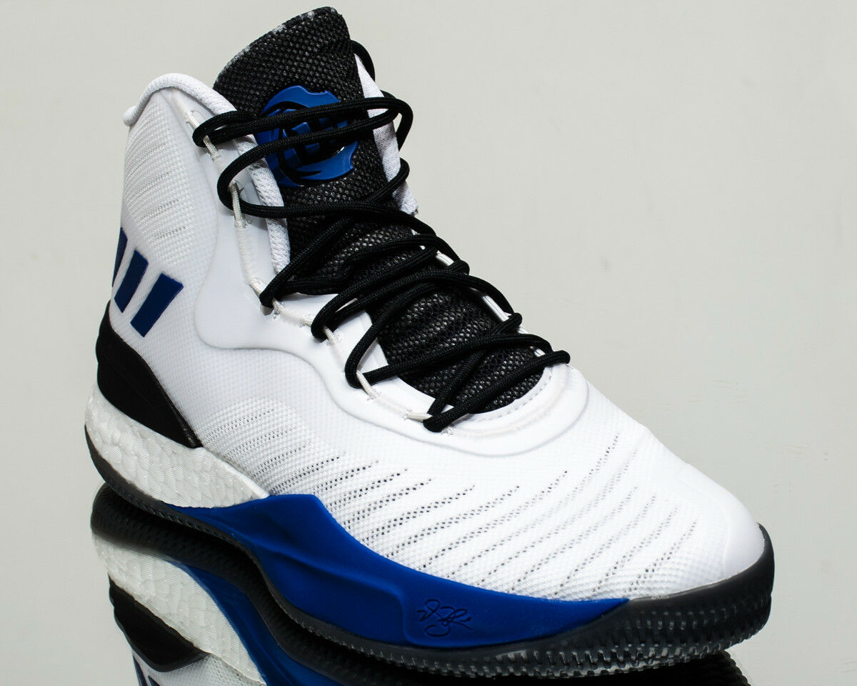 adidas D Rose 8 men basketball shoes NEW white black blue CQ0830 Wild casual shoes